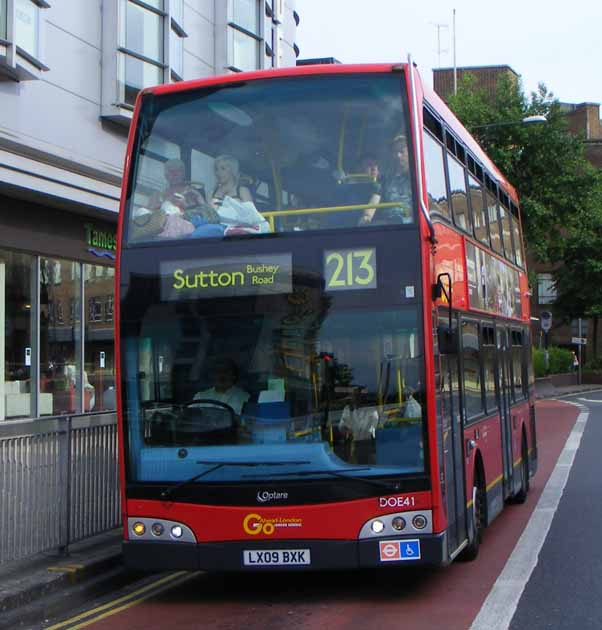 Go-Ahead London Alexander Dennis Enviro400 Optare Esteem DOE41
