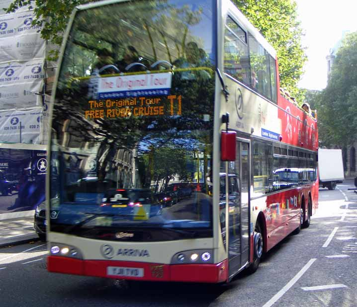 London Sightseeing Tour Volvo B9TL Optare Vissionaire