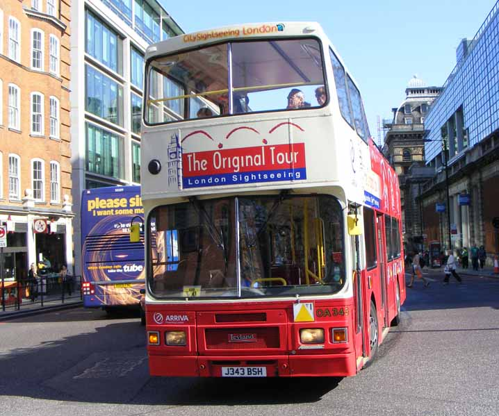 Original London Sightseeing Tour Leyland Olympian Alexander
