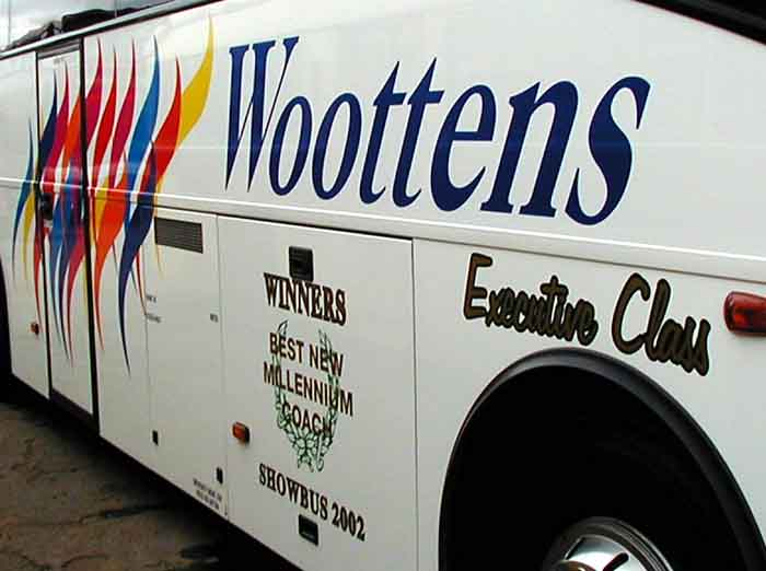 Woottens SHOWBUS winners 2002