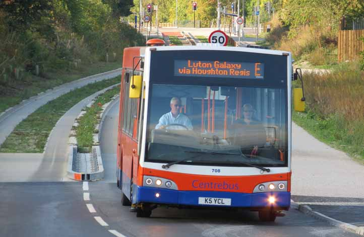 Centrebus from Luton & Dunstable via Busway