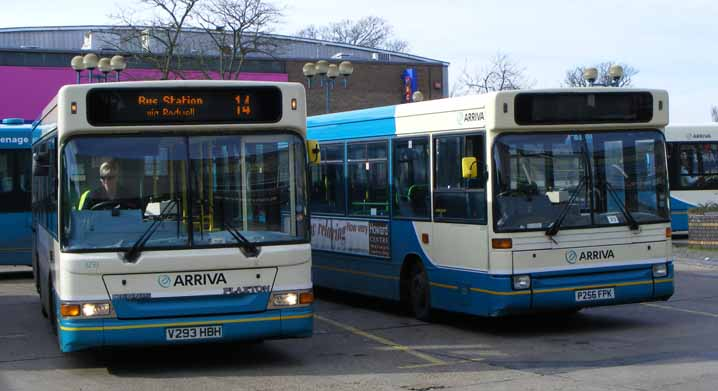 Arriva Shires Dennis Dart Pointer 2 MPD 3293 and SLF Pointer 3386