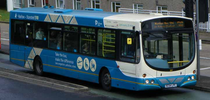 Arriva the Shires Volvo B7RLE Wright 3857