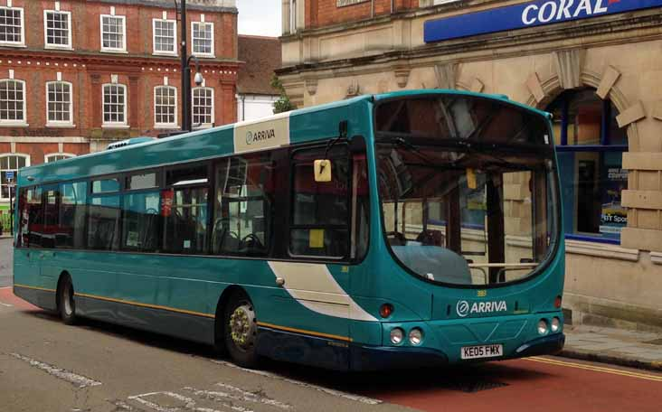 Arriva Shires Volvo B7RLE Wright 3861