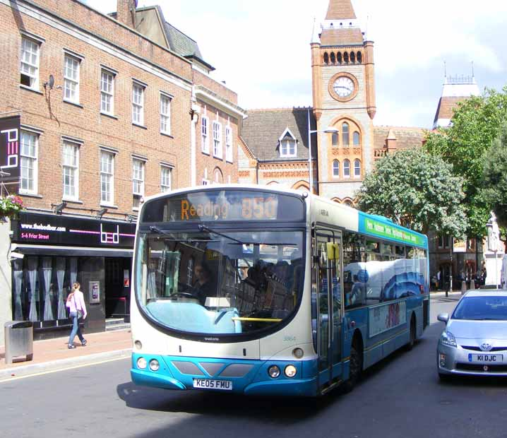 Arriva Shires Volvo B7RLE Wright 3864