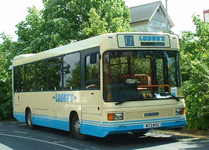 Lodges MAN 11-190 Optare Vectra M73WYG