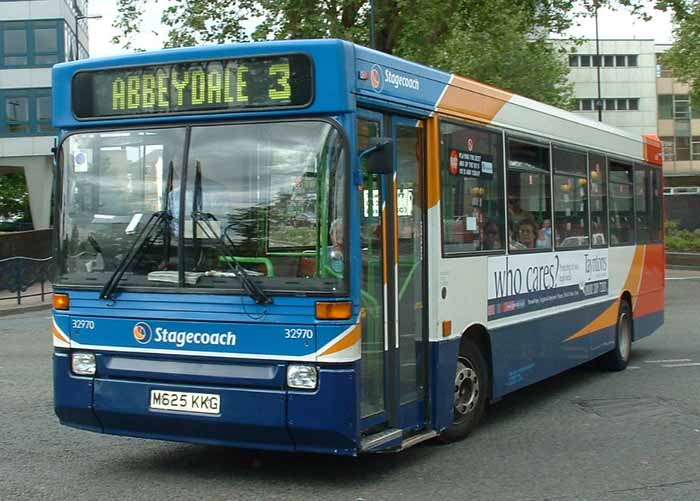 Stagecoach South Wales Dennis Dart Plaxton Pointer 32970