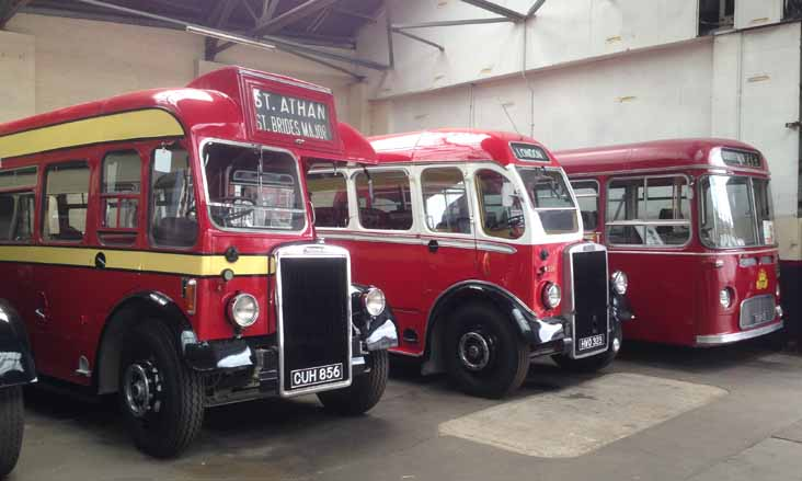 Red & White Leyland Tiger PS1/1 Duple 23 HWO323