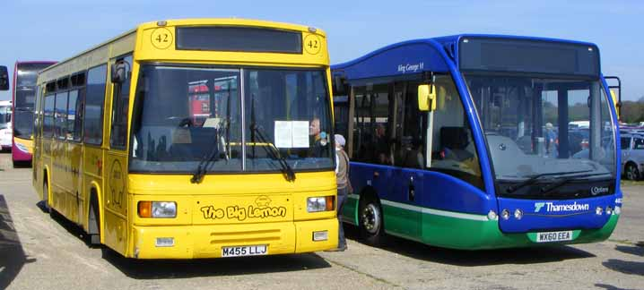 Big Lemon Dennis Dart East Lancs M455LLJ