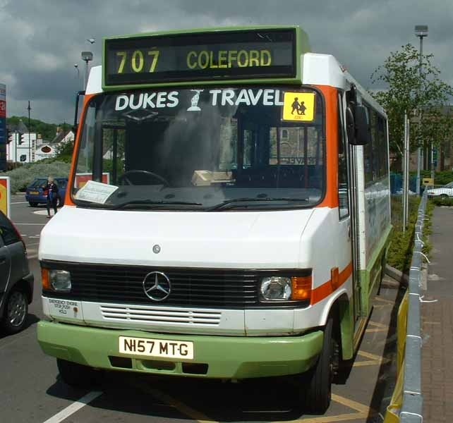 Dukes Travel Mercedes 711D Wadham Stringer N157MTG