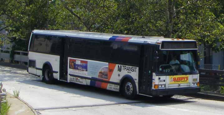 NJ Transit Flxible Metro B 3601