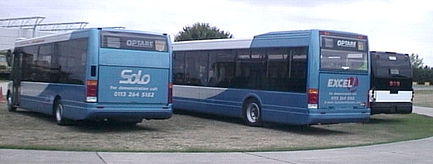 Optare Solo and Excel