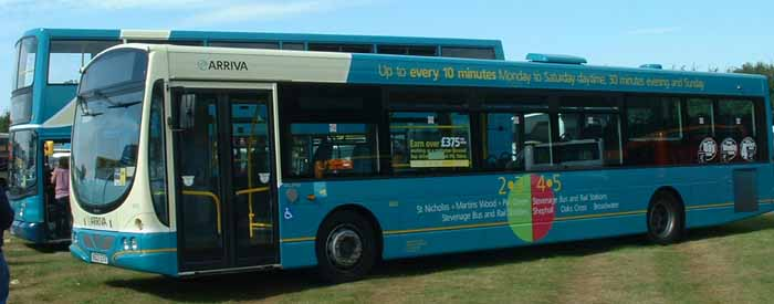 Arriva the Shires Volvo B7RLE Wright 3868