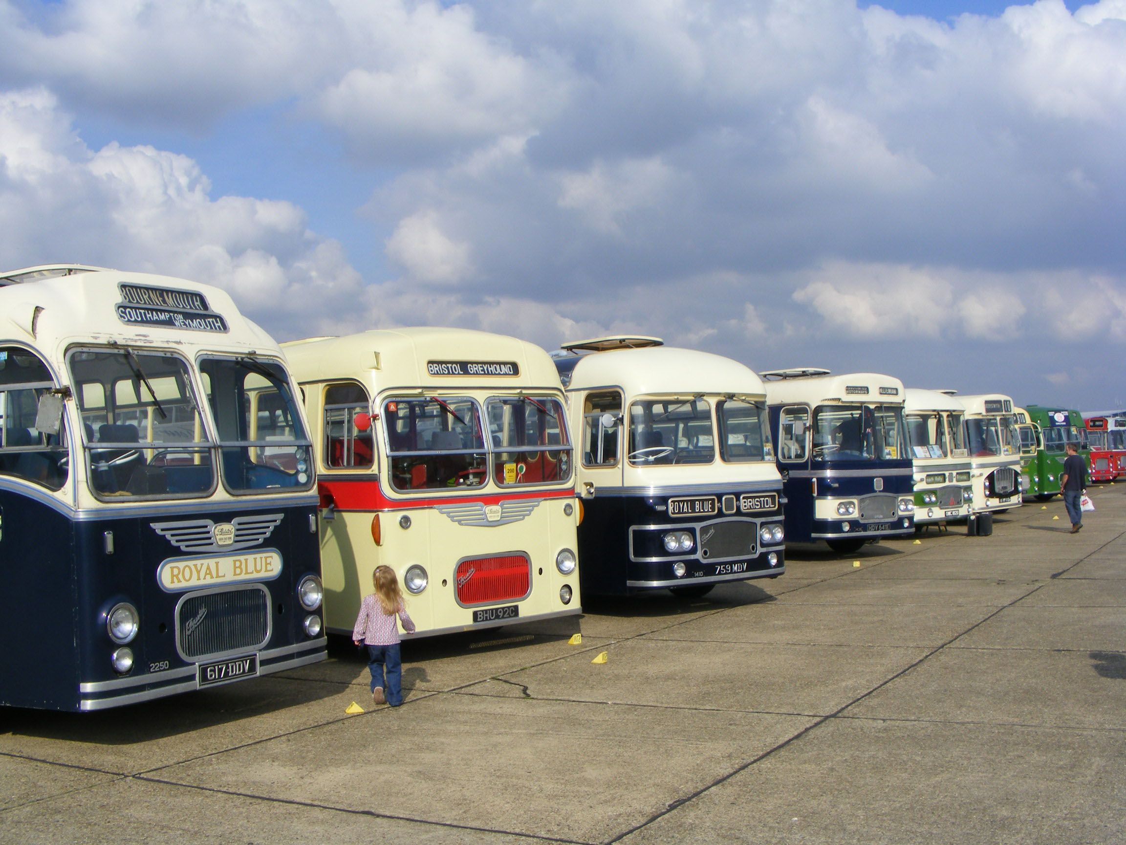 Bristol MW coaches