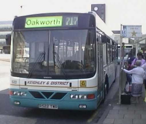 Keighley & District Volvo B10BLE