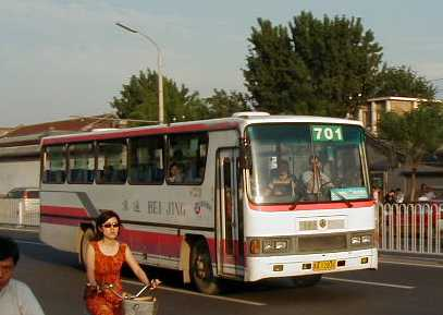 Beijing City Bus route 701