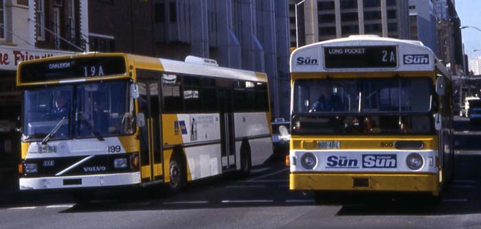 Brisbane Transport Volvo B10M & B59