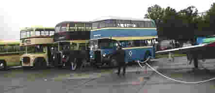 EX6566 & Leicester buses