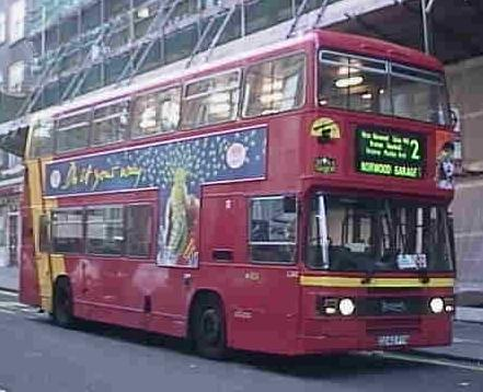 Cowie SOuth London Leyland Olympian C342FYM