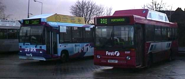 Southampton Gas powered Dennis Dart 2337
