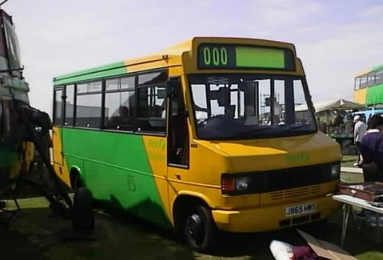 Badgerline Mercedes J865HWS