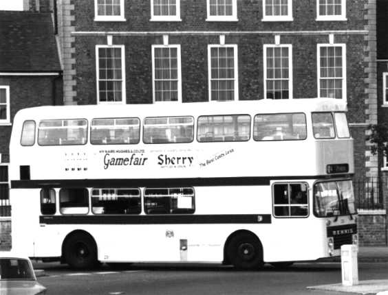 Leicester Citybus Dennis Dominator Marshall UFP231S