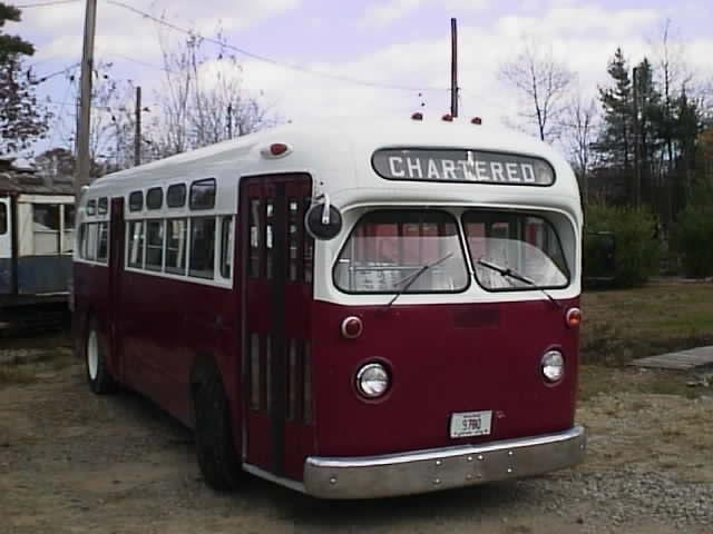 Kennebunkport Seashore Trolley Museum bus