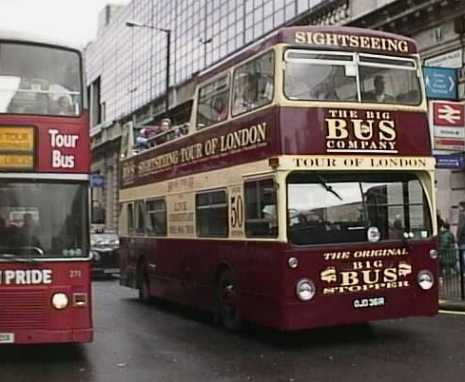 Big Bus London DMS OJD361R