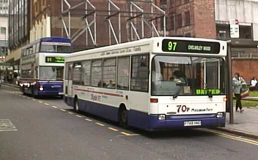 Red Arrow Express Dennis Dart SLF Plaxton Pointer P748HNC