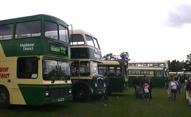 Maidstone & District at SHOWBUS 1999
