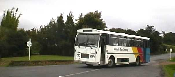 Waiheke Bus Company Bedford VAM near side