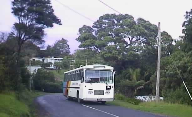 Waiheke Bus Company Bedford at Palm Cove
