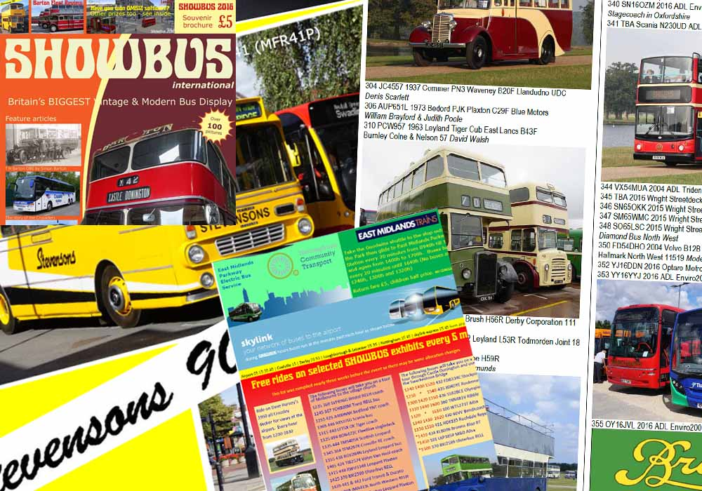 Showbus international 2016 brochure
