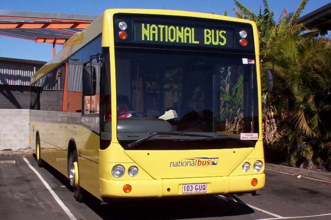 National Bus Queensland Australia Showbus Com Bus Image