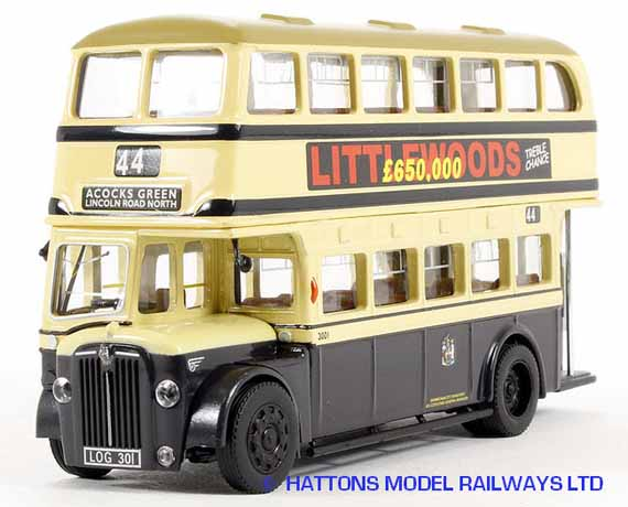Forward Models Birmingham City Guy Arab 3001