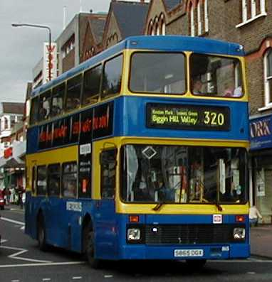 Metrobus Volvo Olympian Northern Counties