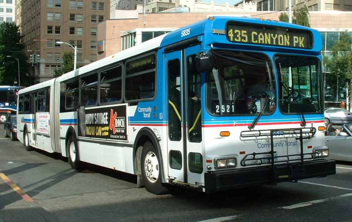 Community Transit New Flyer D60HF artic 5835