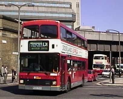 London Central Volvo Olympian Docklands Express